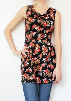 Rochie inflorata marca New Look New Look, Floral Tops, Casual, Dresses, Women, Fashion, Vestidos, Moda, Top Flowers