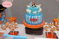 Disney Planes Birthday Party Ideas   Photo 3 of 79 Planes Birthday Cake, Disney Planes Birthday, 5th Birthday, Birthday Party Themes, Planes Party, Airplane Party, Party Party, Party Ideas, Disney Cakes