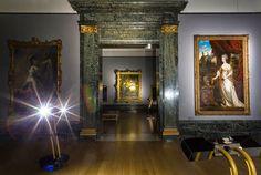 Tate Britain virtual robot guided night tour