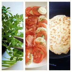 Aprenda a preparar a receita de Piadina ( pão de frigideira)