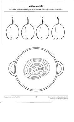 Pracovní listy - Rosničanda - MŠ Pardubice-Rosice/L Fall Preschool, Elementary Schools, Fruit, Worksheets, Diy And Crafts, Kindergarten, Symbols, Letters, Education