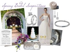 """Spring Bridal Inspirations"" by ptjewelry on Polyvore"
