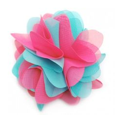 Gorgeous multi layered flower hair clippie for any special occasion for your sweet little girl by Reflectionz. Hair accessory is fun and full of flair which every little girl is sure to love. Perfect for your baby, toddler and little girl ages 2 and up. H