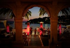 Carpe Diem night club - Hvar, Island of Hvar. This place is more of a courtyard lounge with a large, marble porch with cushioned seating everywhere. Lots of beautiful people, good music, warm breezes...