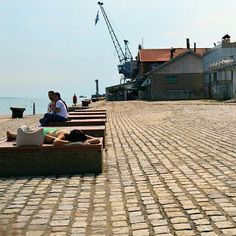 No need to go all the way to the beach, you can get a good tan at the 1st  pier…