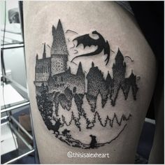 Harry Potter Tattoo by Alex Heart by helloalexheart