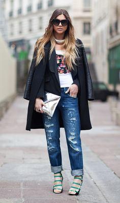 Jeans destroyed: como usar o jeans destruído no look - Dicas de Mulher