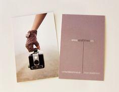 Cartões de Visita Inspiradores com Foto | Criatives | Blog Design, Inspirações, Tutoriais, Web Design