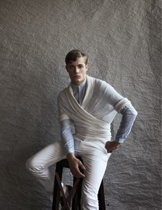 Steven Chevrin by Sebastian Troncoso for Supplementaire #11. Styled by Marc Pina