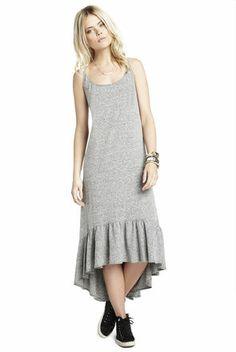 Marine Ruffle-Hem Dress | BCBGeneration