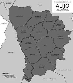 Freguesias do concelho de Alijó