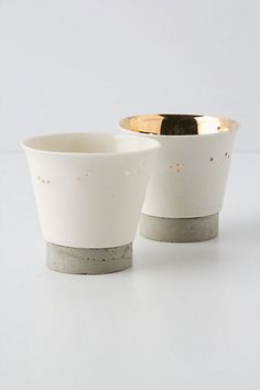 Concrete & gold porcelain | Concrete product design | Concrete | Interior | Inspiration | design | Beton design | Betonlook | www.eurocol.com