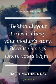 From us at Illumination Marketing, to all of the out there.Happy Mother's Day! hold their children's hands for a short while, but their hearts, forever! Best Mothers Day Presents, Mother Day Gifts, Life Quotes Family, Family Life, Happy Mom, Happy Mothers Day, Birthday Wishes For Daughter, Sunday Love, Mother Quotes