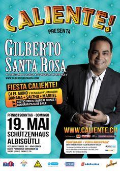 Gilberto Santa Rosa mit Orchester spielt im Rahmen des Caliente 2013 im Schützenhaus Albisgütli Zürich. Tickets: http://www.ticketcorner.ch/gilberto-santa-rosa