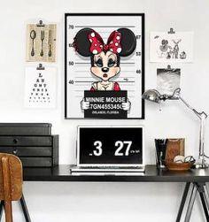 Poster Disney Fichados Minie