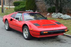 1985 Ferrari 308GTSi red with tan.  62K original miles.This car is in excellent original condition. For only $28,500.