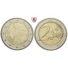 Slowenien, 2 Euro 2008, bfr.: 2 Euro 2008. 500. Geburtstag Primoz Trubar. bankfrisch 5,00€ #coins