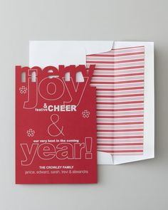 """50 """"Merry"""" Christmas Cards by Checkerboard"""
