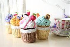 immagini cupcake crochet - Cerca con Google