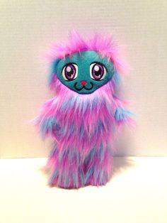 Kawaii+purple+friendly+monster+plushie+/+Cute+by+WithoutDirections
