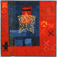 Jenny Bowker - quiltmaker and textile artist - Quilts - Cross Stitch