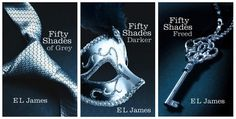 Fifty Shades of Grey Trilogy - Erotic, amusing, and deeply moving, the Fifty Shades Trilogy is a tale that will obsess you, possess you, and stay with you forever.....GIVE IN YOU KNOW YOU WANNA READ THEM ;)