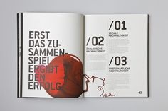 SUSTAINABILITY REPORT on the Behance Network  http://designspiration.net/image/1370808199046/ [publication design]