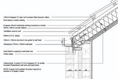 10 Best Concealed Gutters Images Roof Detail