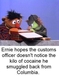 Sesame Street gone bad