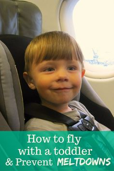 Flying with a toddler can be fun but exhausting. These tips will save your sanity and prevent meltdowns. Specific ideas that really work!
