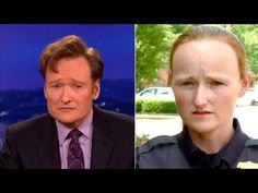 Someone is going to hell for this. LMFAO | Conan Has Been Moonlighting As A Police Lady! - CONAN on TBS