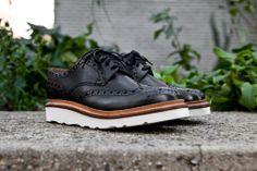 GRENSON Archie V - Black   Shoes   Kith NYC