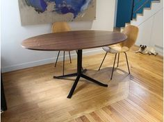 Oval wooden dining table SÉVERIN | Table - Alex de Rouvray design