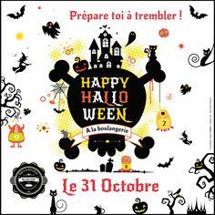 Bouh ! Prépare toi à trembler pour Halloween. - http://www.boulangeriemassaintpierre.fr/prepare-toi-a-trembler-pour-halloween.php