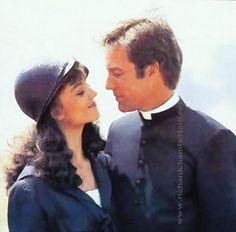 "Richard Chamberlain and Rachel Ward in ""The Thornbirds"""