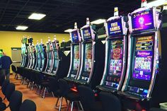 The 5,000 square-foot Odawa Casino in Mackinaw City, Michigan, features 120 electronic gaming machines.