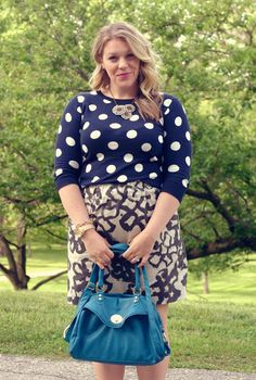 Neutral Polka dots and Floral