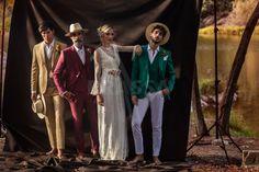 Prassa @lojasprassa Noivo, Pai, Padrinho, Convidado Dresses, Fashion, White Dress, Pai, Groomsmen, Men, Woman, Vestidos, Moda