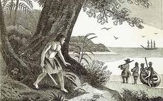 A mariner born in Largo, Alexander Selkirk was marooned on San Fernandez Island and became the model for Daniel Defoe's Robinson Crusoe.