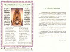 Goigs nº 031 - M.D. Montserrat - BCN - 2006