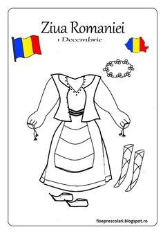 costume nationale desen pe o coala de hartie alba - Căutare Google 1 Decembrie, World Thinking Day, Day Camp, Early Education, Home Schooling, Holidays And Events, Girl Scouts, Activities For Kids, Diy And Crafts