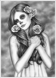 Day of the dead by Zindy.deviantart.com on @deviantART
