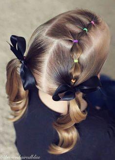 50 Fancy Little Girl Braids Hairstyle Little Girl Braid Hairstyles, Girls Hairdos, Little Girl Braids, Baby Girl Hairstyles, Princess Hairstyles, Girls Braids, Pretty Hairstyles, Hairstyles 2016, Medium Hairstyles