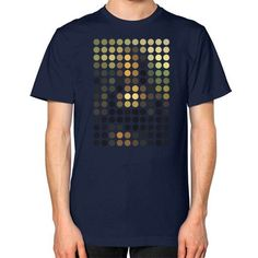 Mona Lisa Remix Unisex T-Shirt (on man)