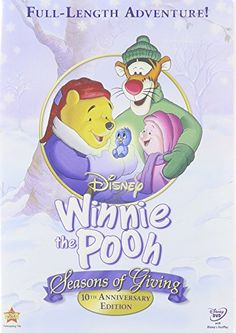 Winnie The Pooh Seasons Of Giving 10th Anniversary DVD  Stocking Gift Set *** This is an Amazon Affiliate link. Read more reviews of the product by visiting the link on the image.