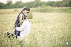 Punjabi inspired engagement shoot