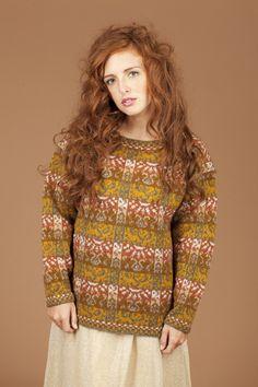 Rheingold.  Alice & Jade Starmore www.virtualyarns.com Fair Isle Knitting sweaters stranded