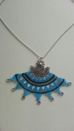 Kolyemde çok güzel oldu Arkansas, Crochet Necklace, Hats, Jewelry, Fashion, Jewlery, Moda, Crochet Collar, Hat