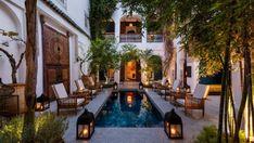 Riad in the medina Marrakech your nearest riad in medina Marrakech Morocco , don't hesitate to visit it Moroccan Garden, Moroccan Style, Moroccan Decor, Moroccan Bedroom, Moroccan Lanterns, Modern Moroccan, Moroccan Design, Style At Home, Outdoor Spaces