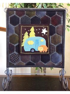 Wool Applique Patterns, Easy Quilt Patterns, Cool Patterns, Sewing Patterns, Annie's Crochet, Crochet Crafts, Bead Kits, Penny Rugs, Easy Quilts